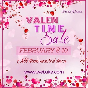 Valentine Sale Digital Ad
