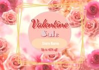 Valentine Sale Insta ไปรษณียบัตร template