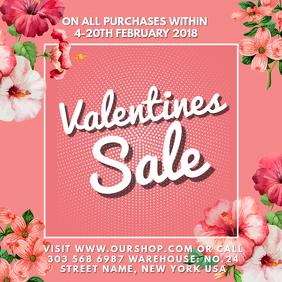 Valentine Sale Instagram Template