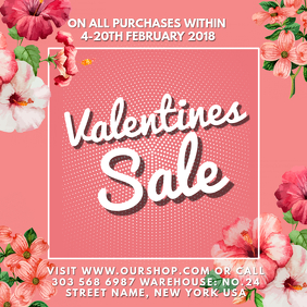 Valentine Sale Instagram Template