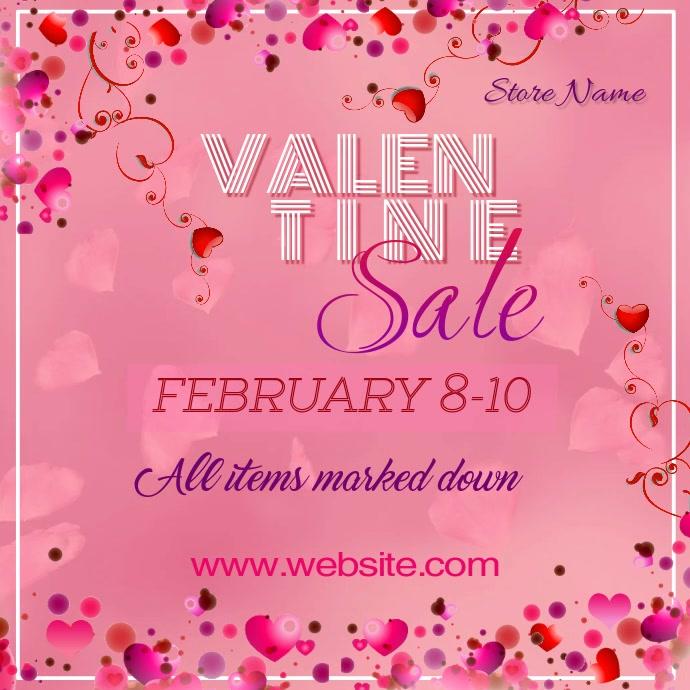 Valentine Sale Video