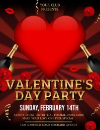 valentine video, valentine's party, valentine