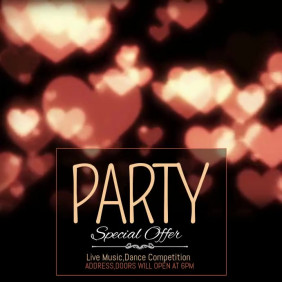 Valentine video template,event video templates