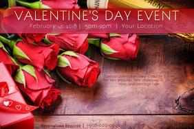 Valentine Wood Gift Roses Champagne Love Romance V-Day