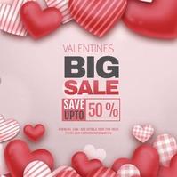 Valentines, Valentines sale