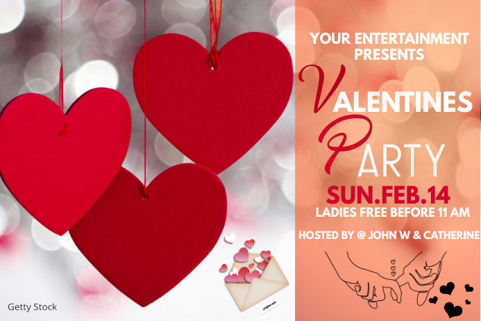 Valentines,Valentines day Etiqueta template