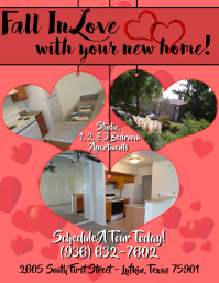 Valentines Apartment Leasing Flyer