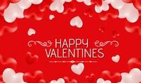 valentines banner แท็ก template