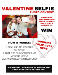 Valentines Competition Flyer Template