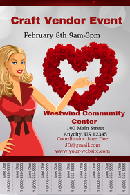 Valentines Craft Vendor Event