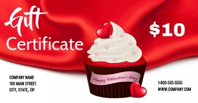 Valentines Cupcakes Facebook Shared Image template