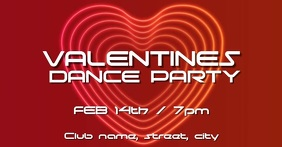 Valentines dance party