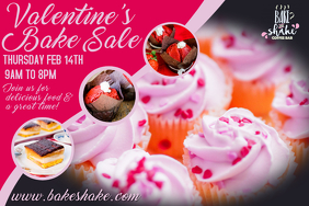 Valentines Day Bake Sale Event Video
