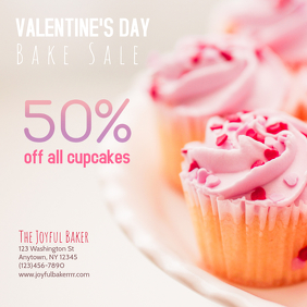 Valentines Day Bakery Bake sale