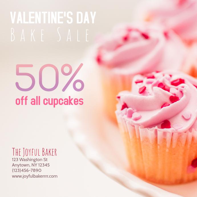 Valentines Day Bakery Bake sale