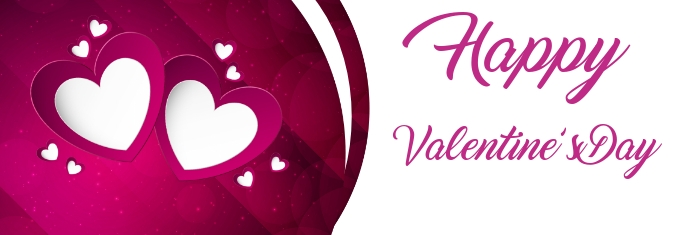 Valentines Day Banner Ibhana le-LinkedIn template