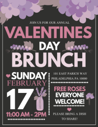 Valentines day brunch