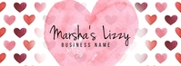 Valentines Day Business Banner Foto Sampul Facebook template