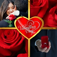 valentines day Instagram Post template