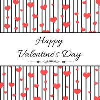 Valentines Day Post Instagram template