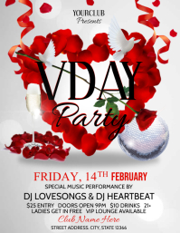 Valentines Day Flyer (US Letter) template