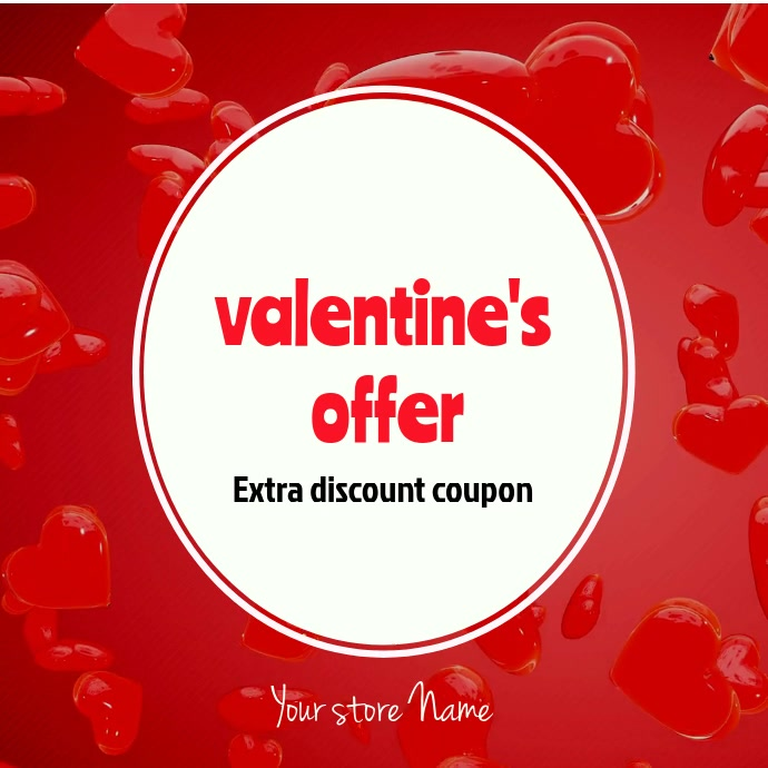 Valentines day discout coupon