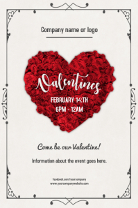 Valentines day Event Flyer/Poster