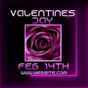 valentines day event ad digital video