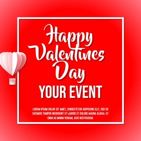 Valentines Day Event Video Template