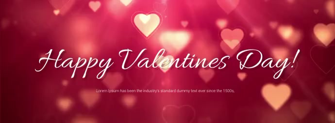 Valentines day facebook cover Facebook-coverfoto template