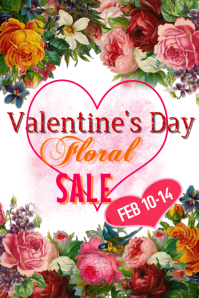 Valentines Day Floral Sale
