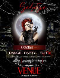 Anti Halloween party Flyer (US Letter) template