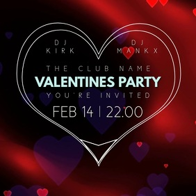 Valentines Day Party Event Video Template