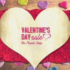 Valentines Day Retail Ad Sale Instagram Post