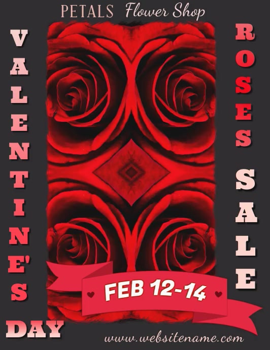 Valentines Day Roses Sale Video