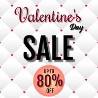 Valentines Day Sale Instagram Post template