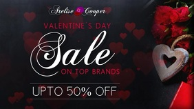 Valentines Day Sale Digital Display Template