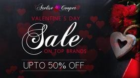Valentines Day Sale Digital Display Template