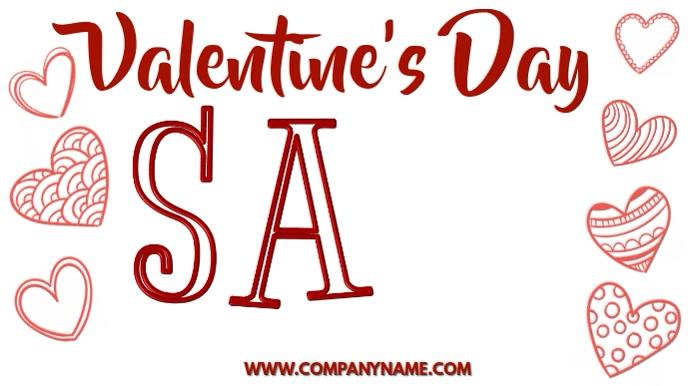 Valentines Day Sale Digital Template
