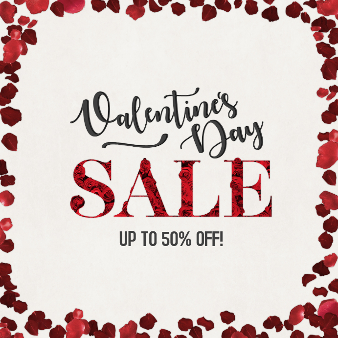 Valentines Day Sale Instagram Post