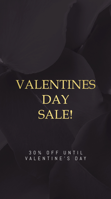Valentines Day Sale Instagram Story Template