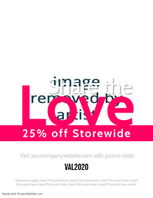 Valentines Day Sale - Share the Love