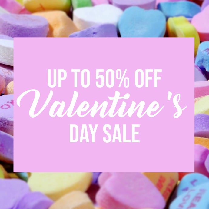 valentines day sale video