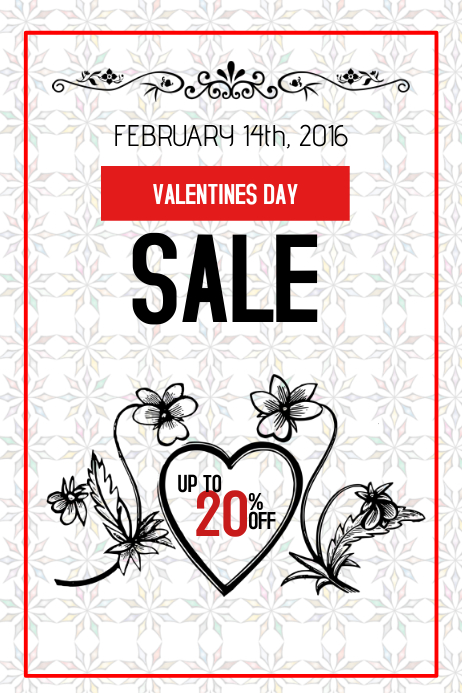 valentines day special sale