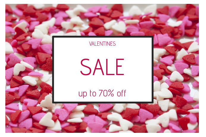 valentines day special sale landscape