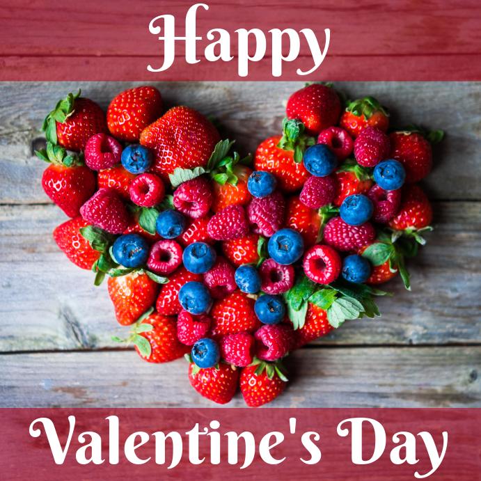 valentines day template Instagram-opslag