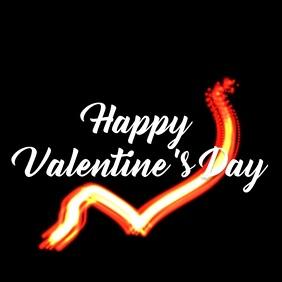valentines day template Сообщение Instagram