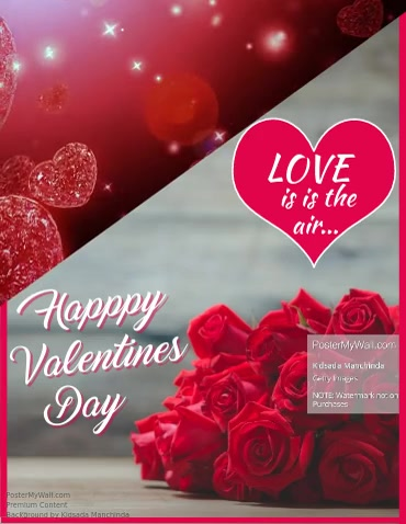 Valentines Day Video Flyer