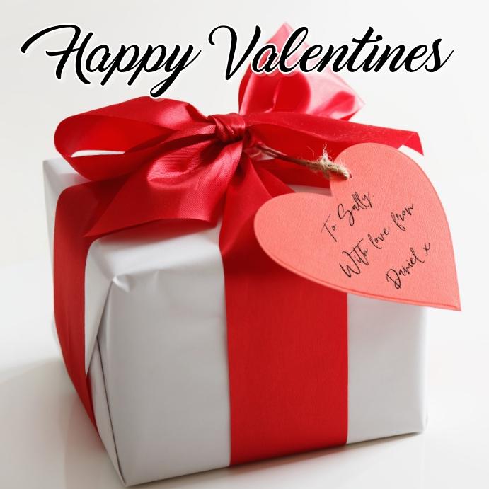 Valentines Vierkant (1:1) template