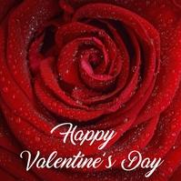 Valentines Cuadrado (1:1) template